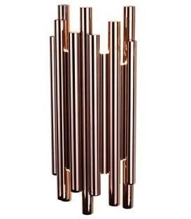8W LED Sienas lampa ORGANIC Copper W0153