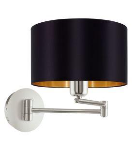 Sienas lampa MASERLO Black 95054