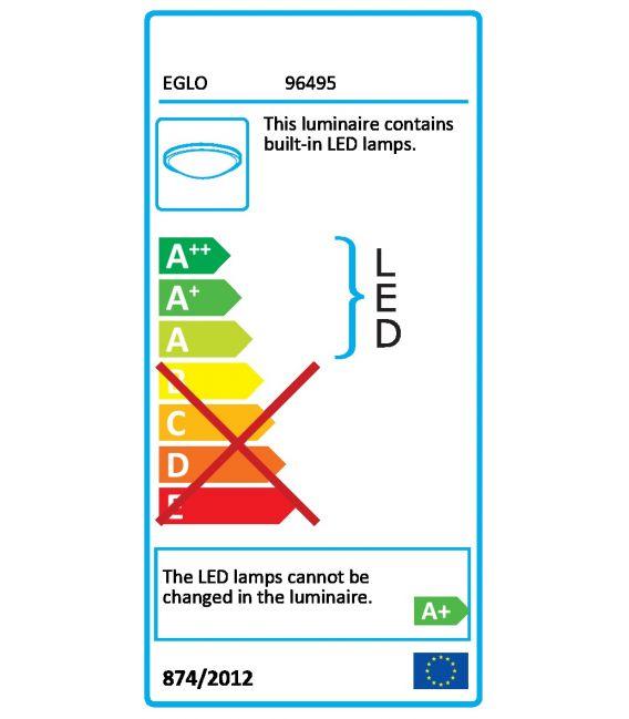 Griestu lampa ARGOLIS LED Anthracite 96495