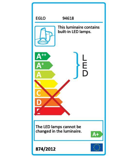 Sienas lampa TORRETTA 24W 94618