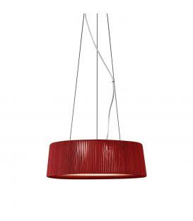 Piekarama lampa DRUM Ø80cm 24800/80 red