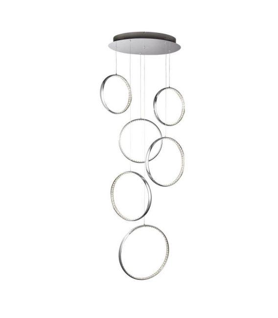 56W LED Pakabinamas šviestuvas RINGS 3166-6CC