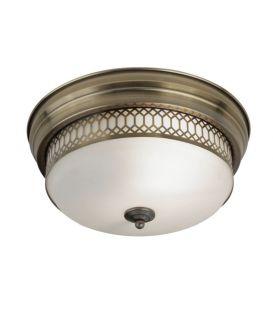 Griestu lampa EDINBURGH Brass 4132-2AB