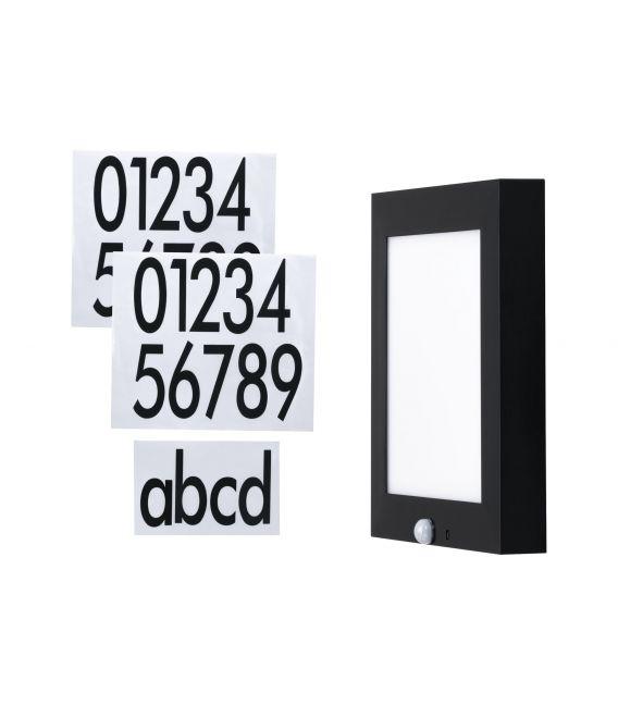 9W LED Sieninis šviestuvas HOUSE NUMBER IP44 94254