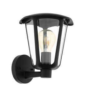 Sienas lampa MONREALE Up Black IP44 98119