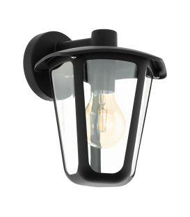Sienas lampa MONREALE Down Black IP44 98121