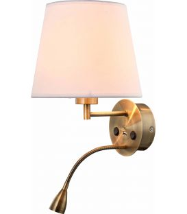 Sienas lampa CAICOS Brass 6093