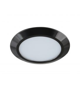 7W LED Iebūvējamā lampa GAMA MINI Black Ø9.5 IP44 4000K LC1453 YLD-017492