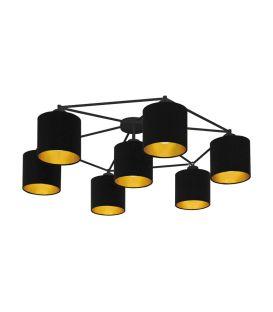 Griestu lampa STAITI Black 97895