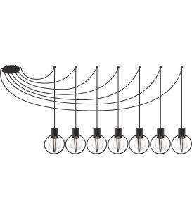 Piekarama lampa AURA 7 Black 31087