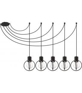 Piekarama lampa AURA 5 Black 31086
