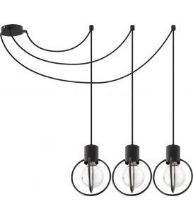 Piekarama lampa AURA 3 Black 31085