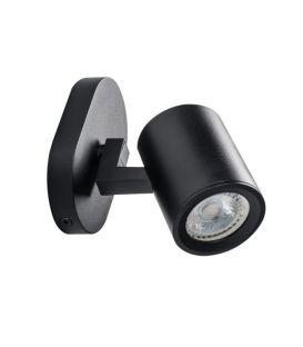Sienas lampa LAURIN Black 29121