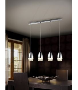 Piekarama lampa ALESSA 4 Chrome 553472