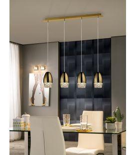 Piekarama lampa ALESSA 4 Gold 553486