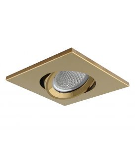 Iebūvējamā lampa NC AROS Gold NC1860SQ YLD-021645