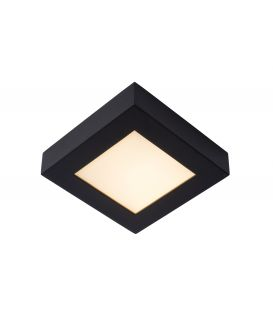 15W LED Griestu lampa BRICE Black IP44 Dimmējama 28117/17/30