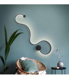 19.5W LED Sienas lampa GRAFOS Black 227018
