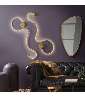 19.5W LED Sienas lampa GRAFOS Gold 227032