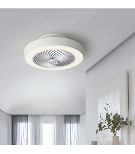 45W LED Gaismeklis ar ventilatoru VENTILUZ Dimmējama 137263