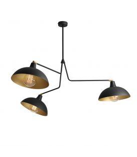 Piekarama lampa ESPACE Black 1036E1