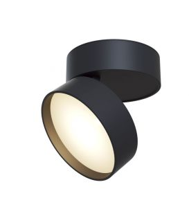 18W LED Griestu lampa ONDA Black C024CL-L18B
