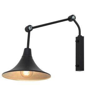 Sienas lampa ANTIKA Black 771C1/1