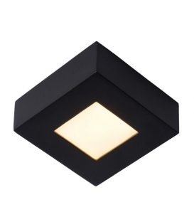 8W LED Griestu lampa BRICE Black Dimmējama 28117/17/30