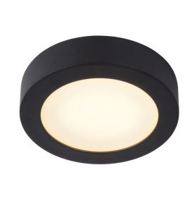 11W LED Griestu lampa BRICE Black IP44 Dimmējama 28116/18/30