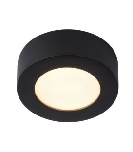 8W LED Griestu lampa BRICE Black IP44 Dimmējama 28116/11/30