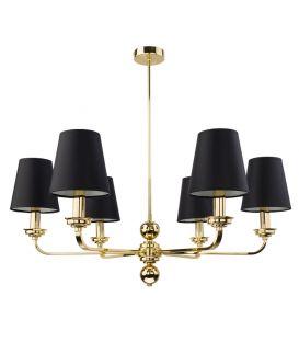 Sieninis šviestuvas MODESTO Black/gold MOD-K-1(CZ)