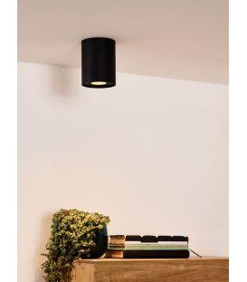 Griestu lampa TUBE Black 22952/01/30