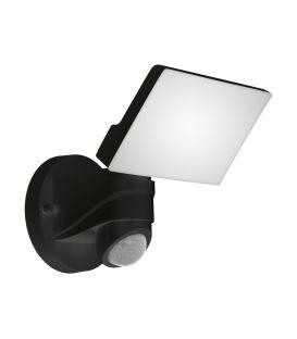 13W LED Gaismeklis ar kustības sensoru PAGINO Black IP44 98178