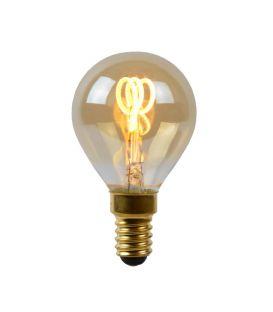 LED SPULDZE 3W E14 Dimmējama Amber Ø4.5 49046/03/62