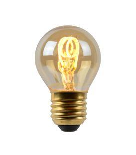 LED SPULDZE 3W E27 Dimmējama Amber Ø4.5 49045/03/62