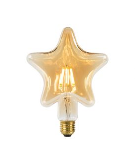 LED SPULDZE 6W E27 Amber 80102/06/62
