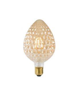 LED SPULDZE 6W E27 Amber Ø9.5 80105/06/62