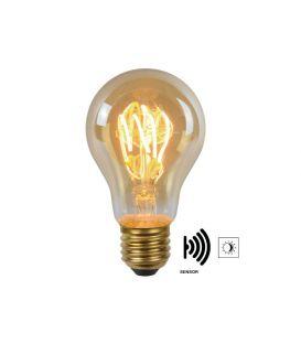 LED SPULDZE sensora 4W E27 Amber 49042/04/62