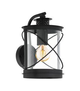 Sienas lampa HILBURN Black IP44 94843