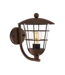 Sienas lampa PULFERO Brown IP44 94854