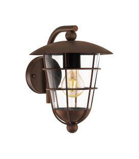 Sienas lampa PULFERO Brown IP44 94855