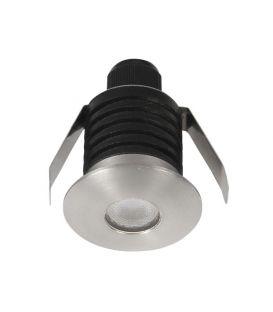 1W LED Iebūvējamā lampa BANG Round Gray IP67 9019212