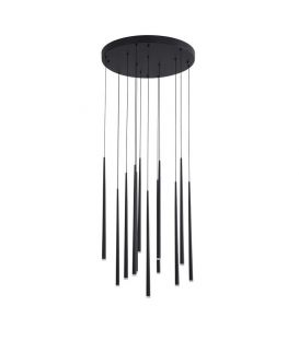 36W LED Piekarama lampa GIONO Black 9601012