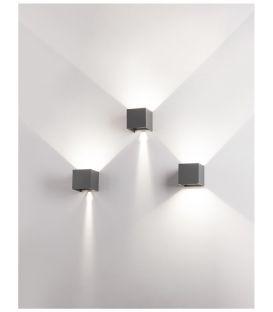 4W LED Sieninis šviestuvas ZARI Black IP54 9226216