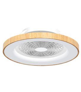 70W LED Gaismeklis ar ventilatoru TIBET Wood Dimmējama 7126