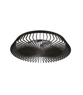 70W LED Gaismeklis ar ventilatoru HIMALAYA Black Dimmējama 7121