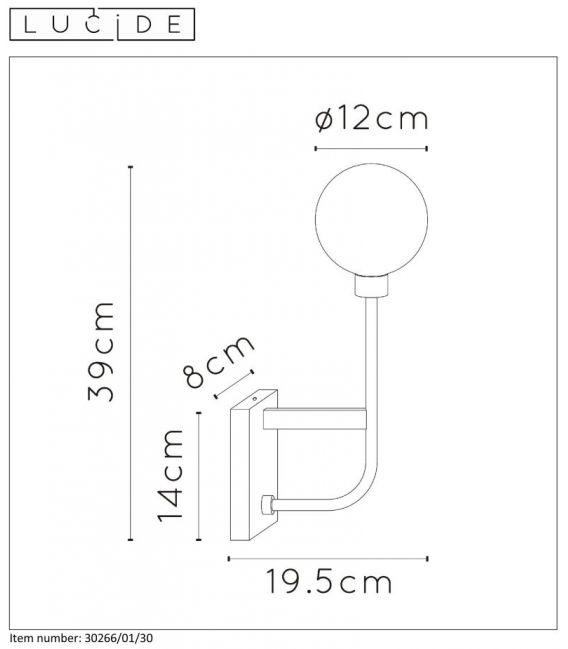 Sieninis šviestuvas BEREND 30265/01/30