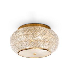 Griestu lampa PASHA PL6 Gold 100807
