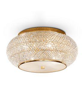 Griestu lampa PASHA PL10 Gold 100791