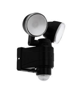 7.5W LED Gaismeklis ar kustības sensoru CASABAS Black IP44 98189